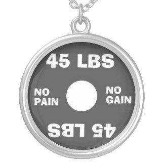 Levantamiento de pesas ningún dolor ningún collar