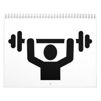 Levantamiento de pesas powerlifting calendario