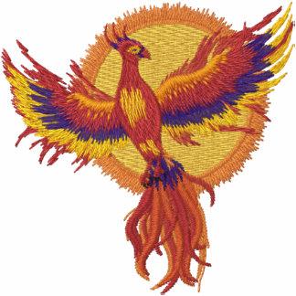 Levantamiento de Phoenix Chaquetas Bordadas