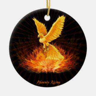 Levantamiento de Phoenix Ornamento Para Arbol De Navidad