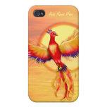 Levantamiento de Phoenix iPhone 4 Fundas