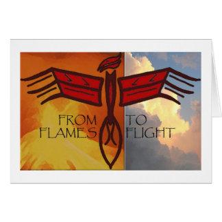 Levantamiento de Phoenix Tarjeta De Felicitación