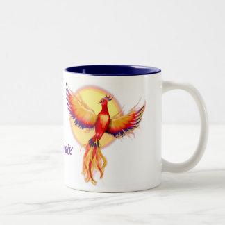 Levantamiento de Phoenix Taza Dos Tonos