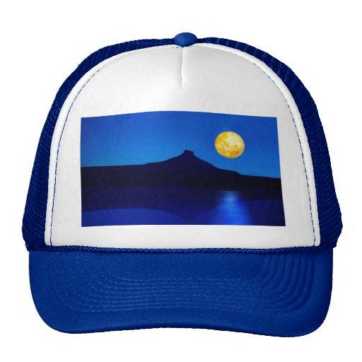 Levantamiento del claro de luna gorra