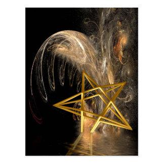 Levantamiento del Pentagram Tarjeta Postal