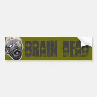 Levantamiento del zombi pegatina de parachoque