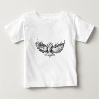 Levantamiento gris de Phoenix Camiseta