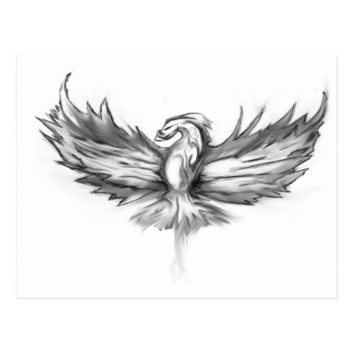 Levantamiento gris de Phoenix Tarjetas Postales