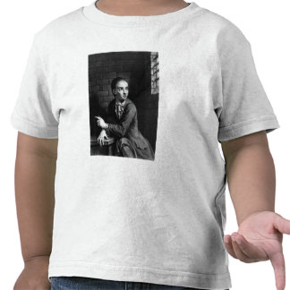 Levante a Sheppard, grabado por el blanco de Georg Camisetas