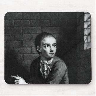 Levante a Sheppard, grabado por el blanco de Georg Tapete De Raton