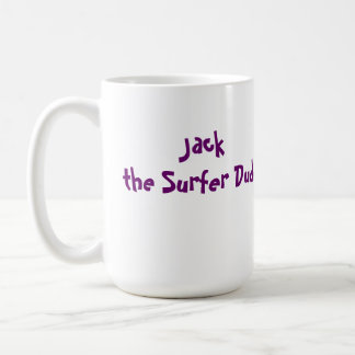 Levante la taza de café del tipo de la persona que
