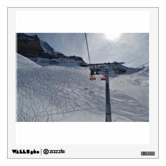 Levante temático, las pistas de los esquiadores