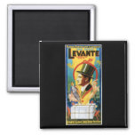 Levante ~ The Great Vintage Magic Act Magnets