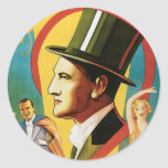 Levante ~ The Great Vintage Magic Act Stickers