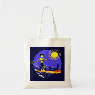 Levántese el diseño de la paleta bolsas lienzo