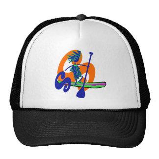 Levántese el diseño de la resaca de la paleta gorras de camionero