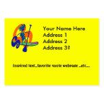 Levántese el diseño de la resaca de la paleta tarjeta de visita