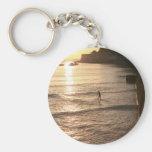 Levántese la puesta del sol San Sebastián del emba Llavero