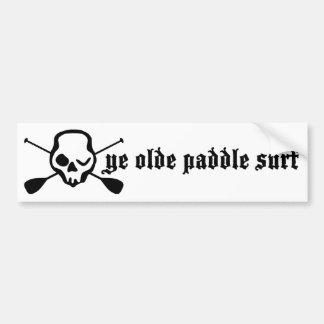 Levántese la resaca de la paleta de YE Olde de la  Etiqueta De Parachoque