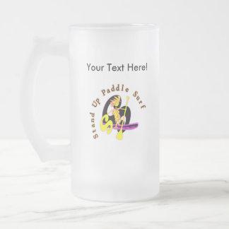 Levántese la resaca de la paleta taza cristal mate