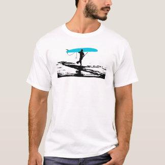 Levántese la sesión de Paddleboarding encima Playera