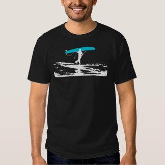 Levántese la sesión de Paddleboarding sobre (la os Playeras