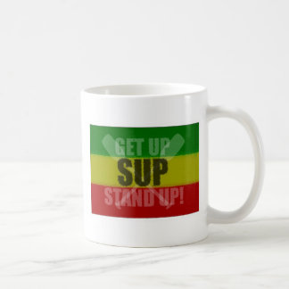 Levántese se levantan la taza del SORBO