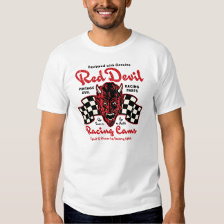 Levas que compiten con del diablo rojo camisas