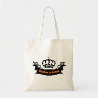 Leve de Koning de Lang Bolsa Tela Barata