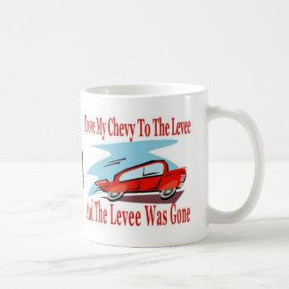 Levee Gone For Espressions Coffee Classic White Coffee Mug