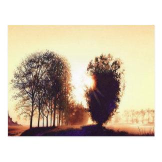"""""""Levee St. Michel"""" Landscape Watercolor Postcard"""