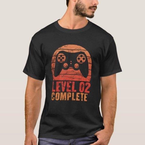 Level 2 Complete Vintage Shirt 2nd Wedding Anniver