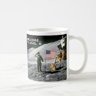 Level 4 Moon Landing Mug