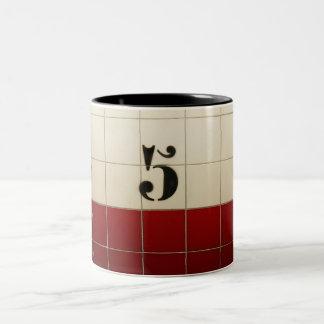 level 5 Two-Tone coffee mug