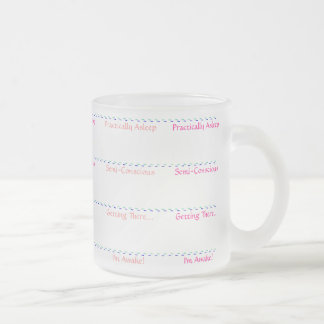 Level of Consciousness Frosted Mug