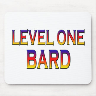 Level one bard mouse pad
