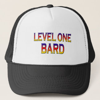 Level one bard trucker hat