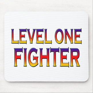 Level one fighter mouse pad