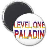 Level one paladin fridge magnets