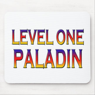 Level one paladin mouse pad