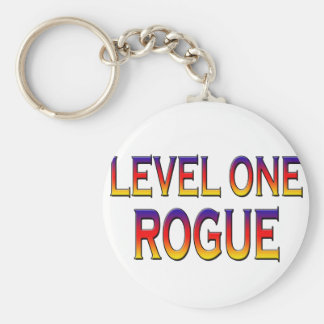 Level one rogue keychain