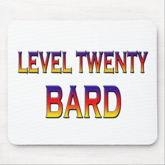 Level twenty Bard Mouse Pad