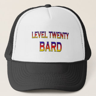Level twenty Bard Trucker Hat