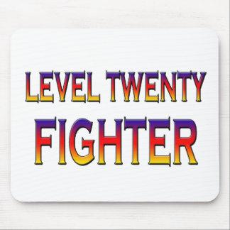 Level twenty fighter mouse pad