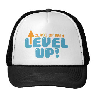 Level Up Class of 2014 Grad Trucker Hat