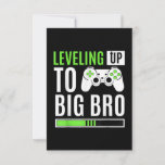Leveling Up To Big Bro Gamer Baby Announcement