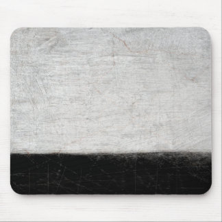 'Levels' Black and White Abstract Art Mouse Pad