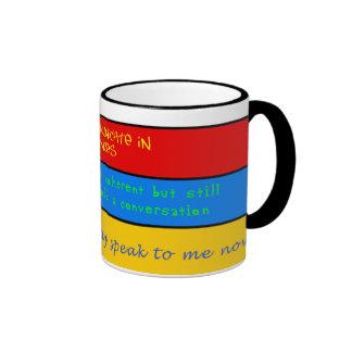 Levels of Coherency Coffee Mug