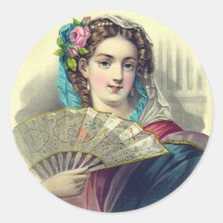L'eventeil 1850 classic round sticker