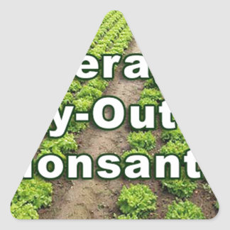 Leveraged Buy-out of Monsanto Triangle Sticker
